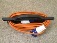10m electric hookup cable for campervan caravan camping