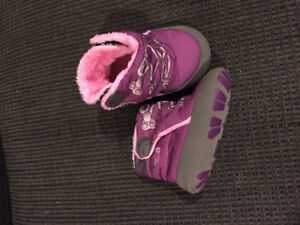 3-6 month warm North Face booties