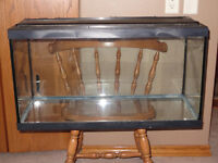 Fish tank about 24 gallon, tank only used a year,