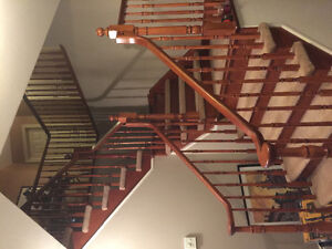 Stair spindles and railing's