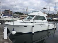 BENETEAU ANTARES SERIES 9 FLYBRIDGE TWIN DIESEL £43500 WILL CONSIDER SKI BOAT AS PART PAYMENT