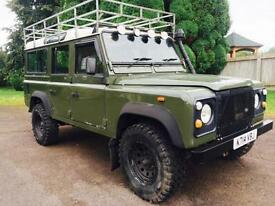1993 Land Rover Defender 110 200Tdi County Station Wagon, 136,000 miles, New mot