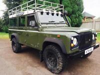 1993 Land Rover Defender 110 200Tdi County Station Wagon, 136,000 miles, New mot