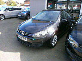 Volkswagen Golf 2.0TDI ( 140ps ) Blue Motion Tech 2010MY Match 2 OWNERS FSH