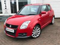 2008 57 SUZUKI SWIFT 1.6 ( 123bhp ) SPORT ~ LOW MILES ~ 1 YEAR MOT ~