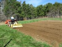 Garden and Lawn Tilling Service