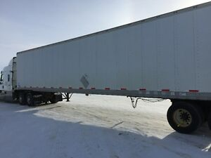 2 Stoughton 53 foot Tandem Axle Dry vans for sale