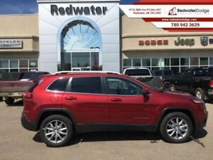 2017 Jeep Cherokee Limited  - Leather Seats -  Bluetooth - $245.