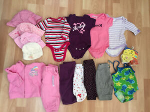 Baby Girls Lot - Size 0-3/6 months