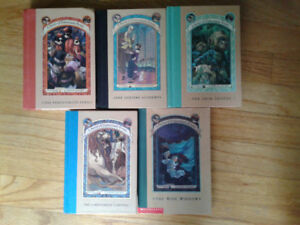 5 - 'A Series of Unfortunate Events' Books by Lemony Snicket