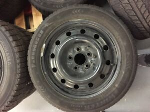 205/55R16 Winter tires and Rims ( Used for only 1 season)