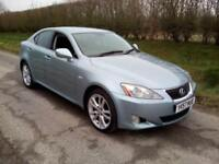 2007 LEXUS IS 220D 2.2TD SPORT (175 BHP) BLUE, FSH, GREAT CONDITION