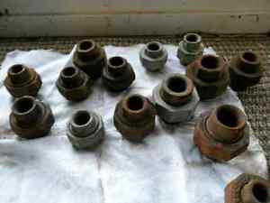 """Nos   Pipe unions  1/2 """"3/4 """"  3/8"""""""