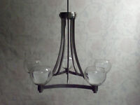 "Contemporary 5-Light Chandelier by ""Westwood Collection"" - BRAND"