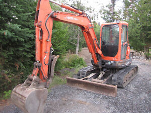 Private deal Kubota excavators best deal in Canada