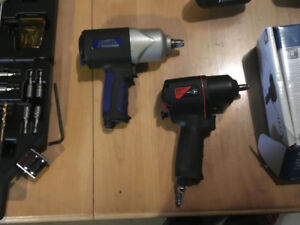 """Jet air screw driver/jet 1/2"""" impact and 3/8 all new"""