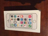 Factory Sealed White/Silver Iphone 5s