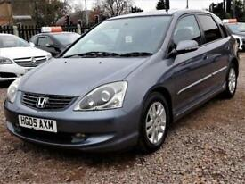 2005 Honda Civic 1.6 i-VTEC Executive Hatchback 5dr