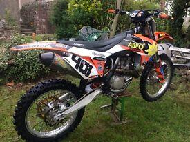 Ktm sxf 450 2013 motocross bike