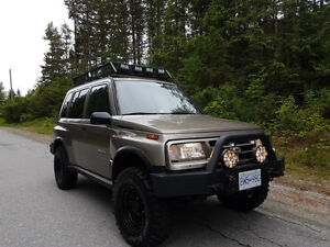 1998 Trail Ready Chevy Tracker - Custom- Squamish, BC