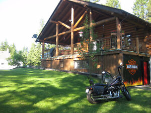 Log Home in 108 Mile Ranch
