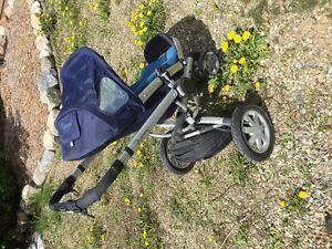 Quinny stroller and accessories