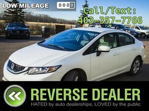 2014 Civic - Winter Tires on & Ready, 8 Tires Total, Low Mileage