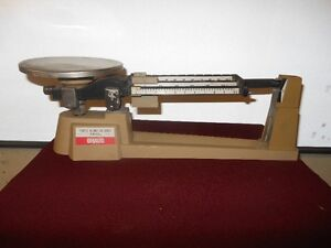 OHAUS Triple Beam Balance Scale 2610g