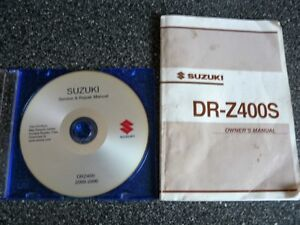 2003 -2013 DRZ 400 Manual and Oil Filter
