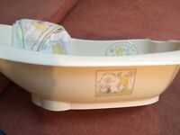 Winnie the Pooh bath and accessories