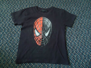 Boys Size 4 Spiderman 3 Cotton Short Sleeve T-Shirt by Marvel Kingston Kingston Area image 1