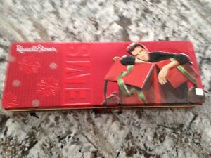 2 Russell Stover Limited Edition Elvis Collectable Tins