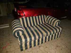Free Striped love seat for a 6pack of Beer!