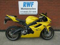 Triumph Daytona 675, 2009, 59 REG, ONLY 2 OWNERS & 13,065 MILES, LOT'S OF EXTRAS