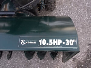 Yardworks Snowblower  10.5 HP  30 inch for sale