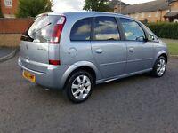 2005 Vauxhall meriva 1.6, low mileage, spacious familly mpv