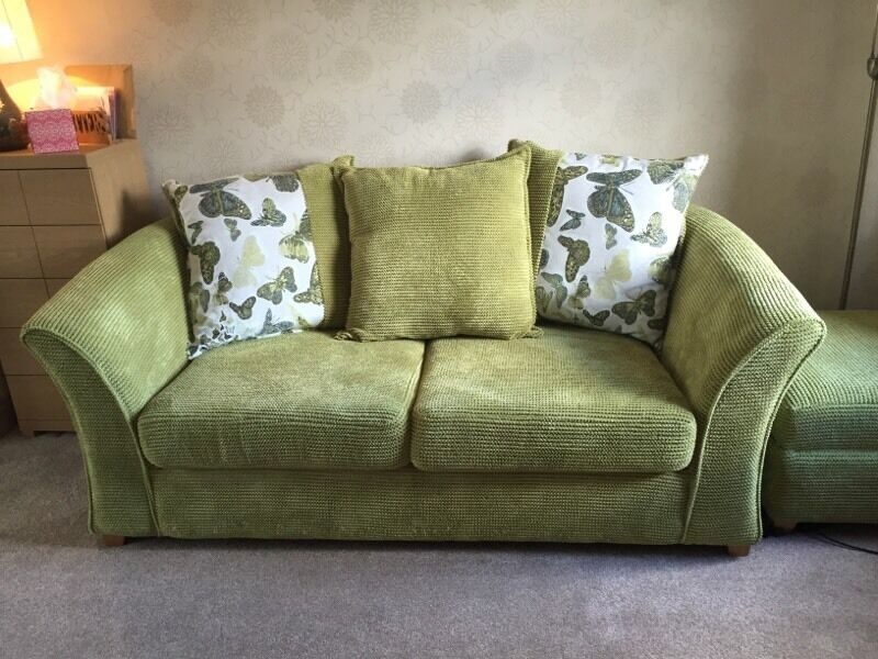 Green Chenille Sofa Oc Recycled Inventory Thesofa