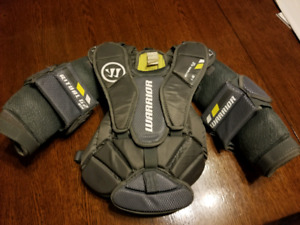 Goalie chest protector, Warrior, youth L XL