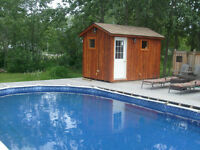 Cottage Cedar Saunas