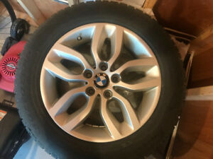 BMW X4 WINTER TIRES AND RIMS FOR SALE
