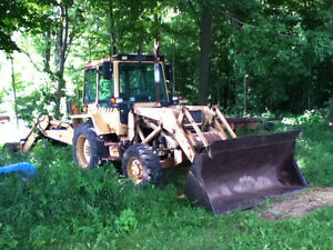 Massey Ferguson 50 HX Backhoe Loader 4 Wheel Drive