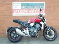 Really clean Honda CB 1000 RA-J, Packed with tech