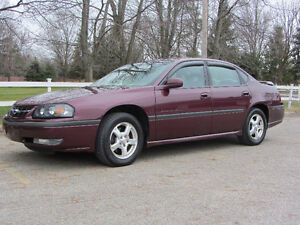 2003 Chevrolet Impala LS , No Rust ! Cert and E-tested !
