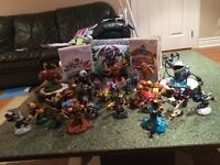 Wii system Skylanders set selling for 130$