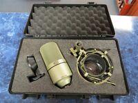 Microphone studio condenser MXL 990