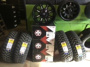 2012-2016 Dodge 2500/3500/Ford F-250/350 Rim & Tire Package!!