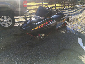 Polaris RMK 800 for sale or trade for 4x4 quad