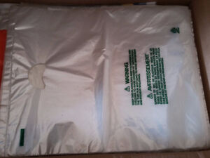 Lot of 150 plastic bags die cut 19 x 15 inches Brand new London Ontario image 4