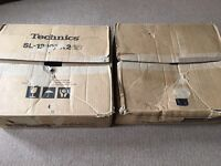 Technics 1210 mk2 original boxes