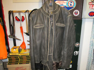 RIVER ROAD CHAPS & JACKET LEATHER